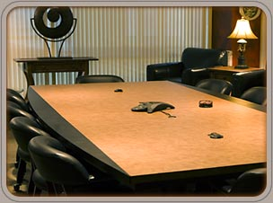 Custom conference tables by Architectural Arts.